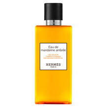 Eau de mandarine ambrée, Hair and body shower gel, 200 ml