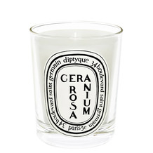 Geranium Rosa Scented Candle
