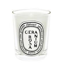 Géranium Rosa Scented Candle, 190g