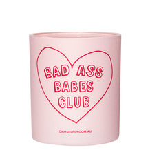 BAD ASS BABES CLUB Scented Candle, 300G
