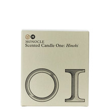 Monocle Scented Candle One: Hinoki Candle, 165g