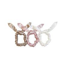 Bunny Scrunchies - Caramel, Pink, White