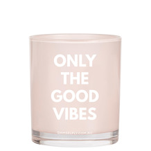 ONLY THE GOOD VIBES Scented Candle, 400G