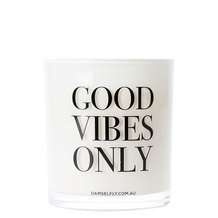 Good Vibes Only Scented Candle